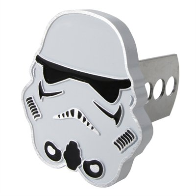 Star Wars Storm Trooper Solid Metal Hitch Plug Receiver Cover