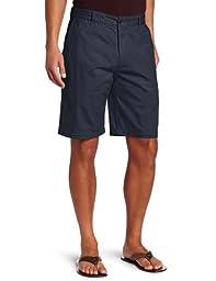 Dockers Men\'s Perfect Short D3 Classic Fit Flat Front, Maritime, 36