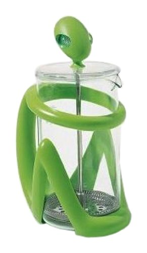 A di Alessi Inka Press Filter Coffee Maker, Green, (AGV09 GR)
