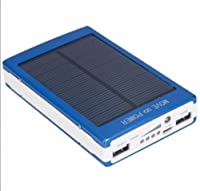 Dual USB Portable Solar Battery Charger ...