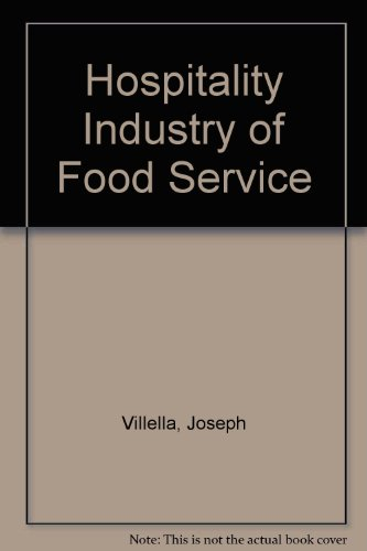 Hospitality Industry of Food Service PDF