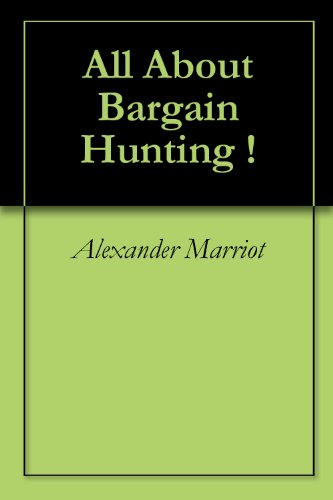 All About Bargain Hunting !