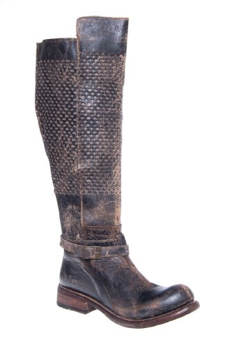 Bed|Stu Biltmore Tall Low Heel Distressed Woven Boot