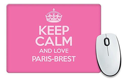 Pink-Keep-Calm-und-Love-paris-brest-Mauspad-Farbe-2748