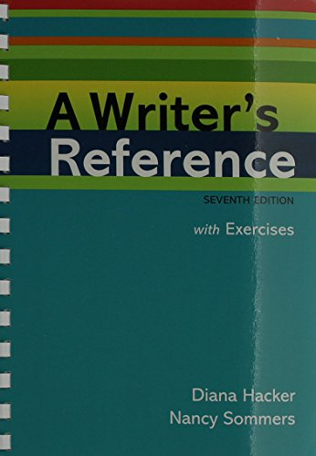 Writer's Reference 7e with Integrated Exercises & paperback dictionary