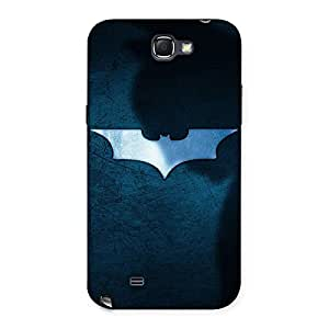 Cute Premier Blue Knight Multicolor Back Case Cover for Galaxy Note 2
