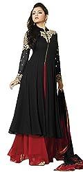 Sitaram creation womans kurta gown with dupatta.