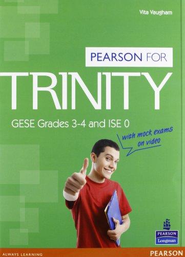 Trinity. GESE Grades 3-4 and ISE 0. Con espansione online. Per le Scuole superiori. Con Multi-ROM