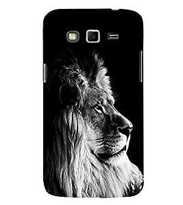 EPICCASE Majestic lion Mobile Back Case Cover For Samsung Galaxy Grand Prime (Designer Case)