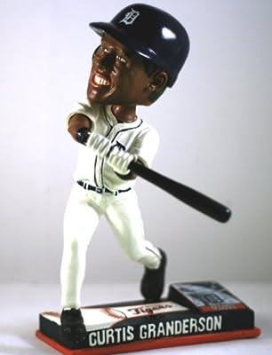 Curtis Granderson Detroit Tigers Ticket Base On Field Bobble Head Bobblehead