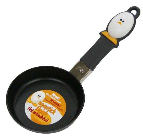 Joie de Vivre 50162 Mini Fry Egg Pan with Nonstick Surface