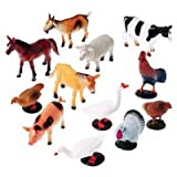 Neo Gold Leaf 12 Pcs Set Farm Animal (multi Color)