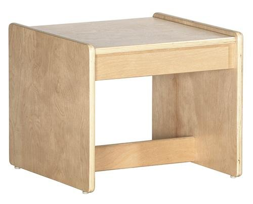 Cheap ECR4Kids Living Room Set Birch End Table (ELR-0684)