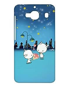 Crackndeal Back Cover for Xiaomi Redmi 2