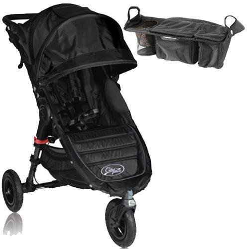 Baby Jogger Bj15310 City Mini Gt Single With Parent Console - Black Black front-546808