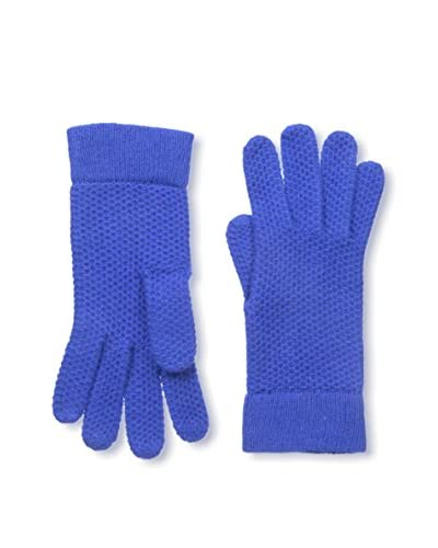 Portolano Women's Cashmere Gloves, Blue Bell