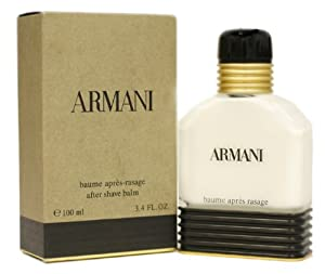 Armani By Giorgio Armani For Men. Aftershave Balm 3.4 Oz