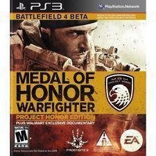 Medal of Honor Warfighter Battlefield 4 Project Honor Edition Plus Walmart Exclusive Documentary