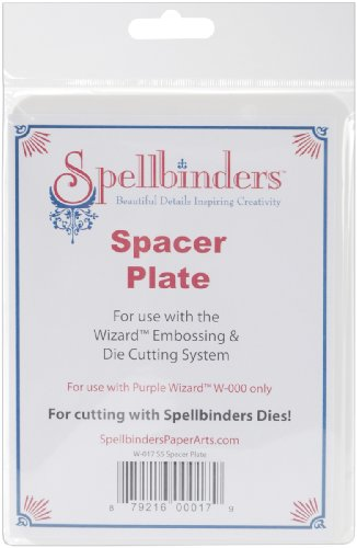 Sale alerts for Leadoff Spellbinders Wizard S5 Spacer Plate 5''X7''- - Covvet