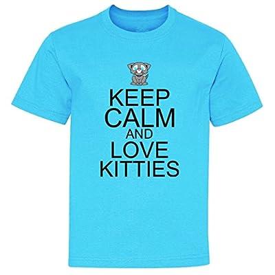 Keep calm and love kitties Youth T-Shirt