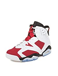 Nike Mens Air Jordan 6 Retro Leather Basketball Shoes