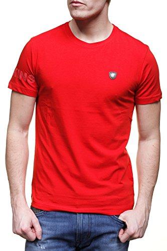 Redskins -  T-shirt - Collo a U  - Maniche corte  - Uomo rosso XX-Large