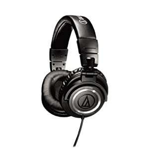 Audio-Technica ATH-M50S Professional Studio Monitor Headphones