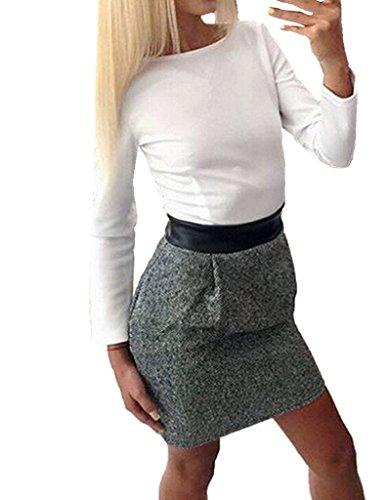 spesa-365-secondo-le-donne-s-ol-splice-patchwork-bodycon-dresses-vestito-da-donna-grigio