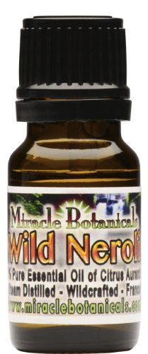 Neroli Essential Oil (French) - 100% Pure Citrus Aurantium - 10ml (1/3oz)