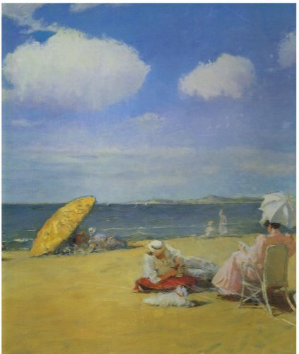 Laurel Ink Fine Art Jigsw Puzzle : On the Beach By William Merritt Chase (American 1849 - 1916) Masterpieces 500 Pieces - 1
