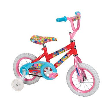 Huffy 12-Inch Girls So Sweet Bike (Candy Pink/Bubble Gum)