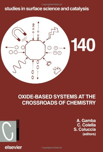 Oxide-Based Systems at the Crossroads of Chemistry: Second International Workshop, October 8-11, 2000, Como, Italy (Studies in Surface Science and Catalysis)
