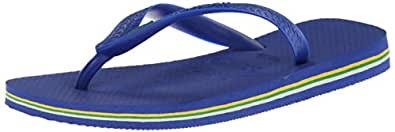 Havaianas Women's Brasil Flip Flop,37-38 BR / 7-8 B(M) US,Marine Blue