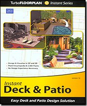 Brand New Imsi Software Turbo Floorplan Instant Deck & Patio V12 Create The Deck Automatically front-178388