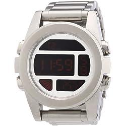 Nixon - Reloj para caballero de acero inoxidable multicolor