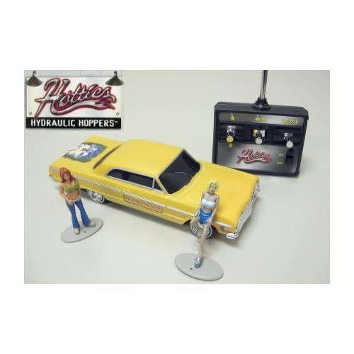 Hoppers 1964 Chevy Impala Radio Controlled Lowrider Model Car