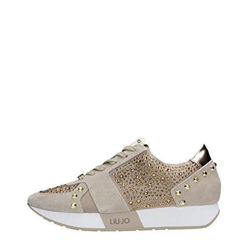 Sneaker running Liu-Jo Aura S16195 beige coloniale P/E 2016 (40)