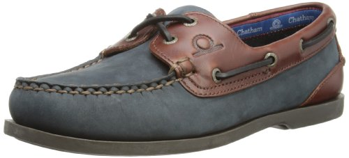 Chatham Marine Women's Bermuda Lady G2 Boat Shoe Navy / Seahorse D069-080 8 UK