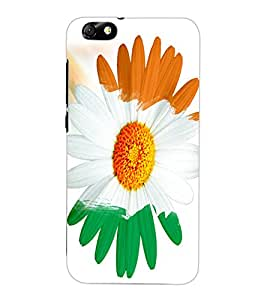ColourCraft Beautiful Flower Design Back Case Cover for HUAWEI HONOR 4X