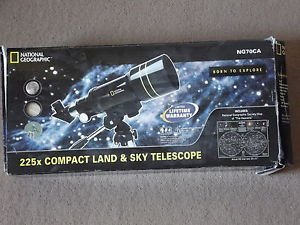 National Geographic 225X Land And Sky Telescope - Ng70Ca