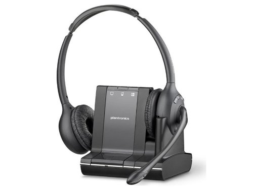 Plantronics Savi W720 Multi-Device Wireless Headset System - US Warranty - Black