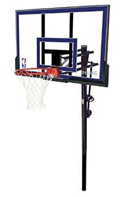 88355 Spalding 50in In-Ground Acrylic Backboard Basketball System