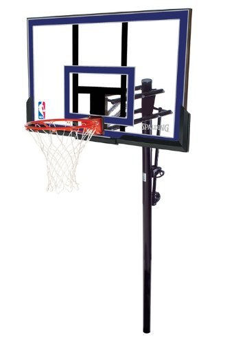 Spalding 50-Inch In-Ground Basketball System with Acrylic Backboard