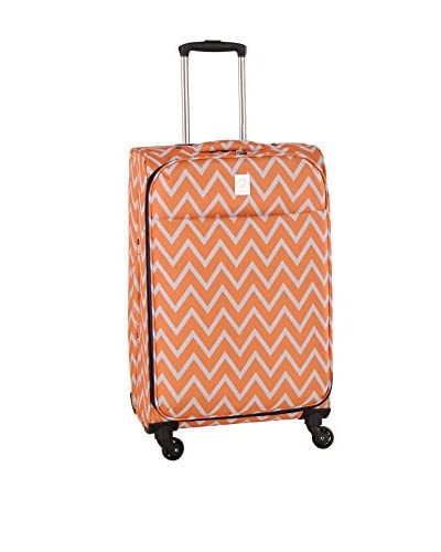 Jenni Chan Aria Madison 28″ Spinner Luggage, Orange