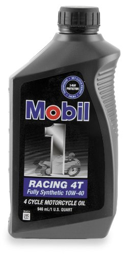 Mobil1 10W40 Racing 4T - 1 Quart 98JA11 (Mobil 1 10w40 Motorcycle Oil compare prices)