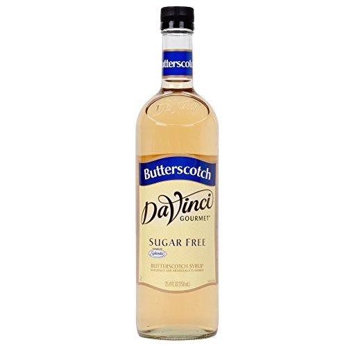 Davinci Sugar Free Butterscotch Syrup W/ Splenda 750 Ml
