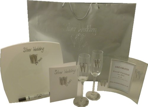 Silver Wedding Gift Pack