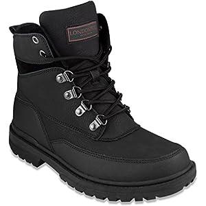 London Fog Camden Men's Cold Weather Boots - Black/Size 10