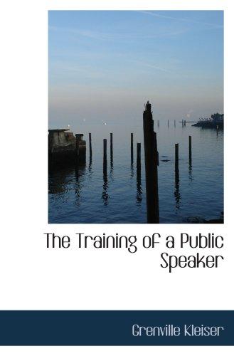 培训的公众演说家