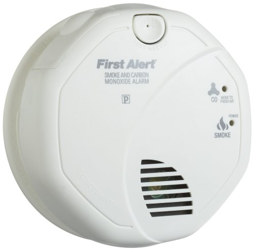 First Alert SC05CN Battery Operated Combinati...